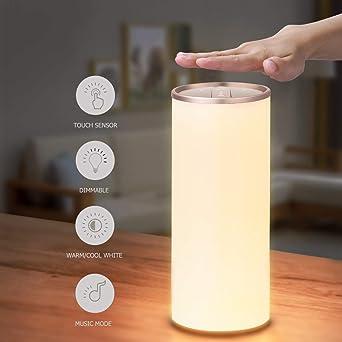 Nachttischlampe Mit Gestensensor Yunlights Tischlampe Led 1 Stück