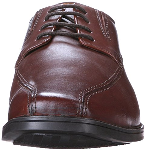 Clarks Tilden Paseo Oxford Brown Leather
