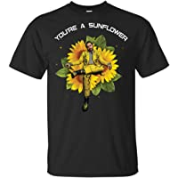 Post You're A Sunflower Leave Me Malone Shirt, Music Hiphop Tshirt Gift For Fan, Men And Women