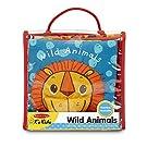 Melissa & Doug Soft Activity Baby Book - Wild Animals