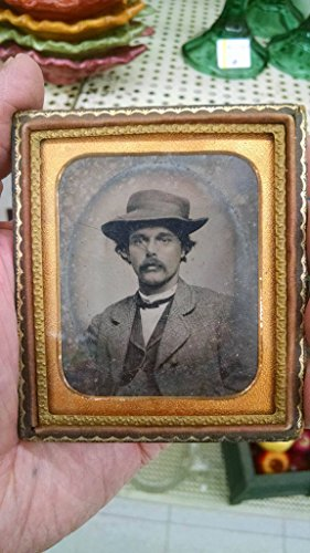 Original Daguerreotype of Well Dressed Young Man