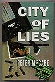 City of Lies, Peter McCabe, 0688121187