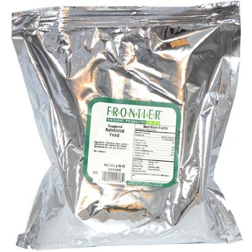 Nutritional Yeast Frontier Natural Products 1 lbs Powder