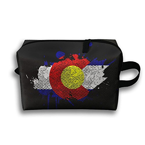 Colorado Flag Travel Compact Smartphone Headset Storage - For Sunglasses Sale Colorado