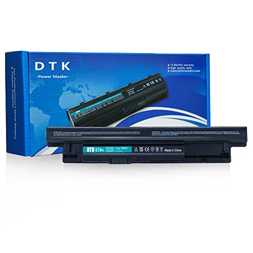Dtk® High Performance Laptop Battery for Dell Inspiron 14 3421 / 14r 5421 / 14r-(3437 N3421 N5421) 15 3521 / 15r-(3537 5537 N3521 N5521 N5537) / 17 3721 / 17r-(5737 N3721 N3737 N5721 N5737) 17r 5721 / 15r 5521 MR90Y ( 11.1v 5200mah 6cells )