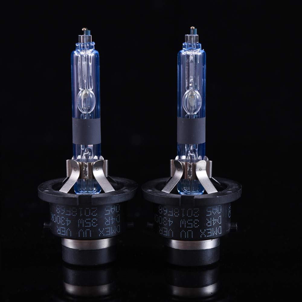 6000K Xenon Headlight HID Bulbs Replacement 2 Yr Warranty 35W Pack of 2 DMEX D2S