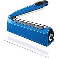 CooPee - Sellador de impulsos de 20,3 cm, máquina de embalaje de sellado térmico para restauración del hogar…