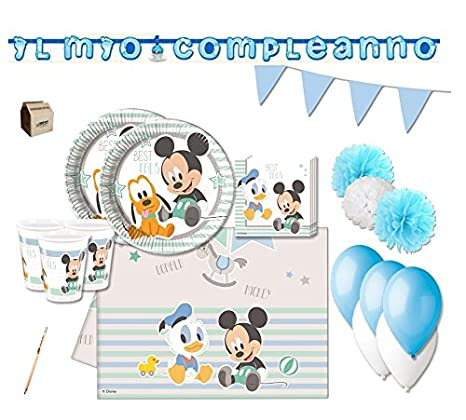 Irpot Kit N 46 Topolino Infant Addobbi Compleanno Baby Shower