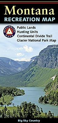 Montana Recreation Map (Benchmark Maps: Montana)