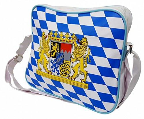 Schultertasche Bayern