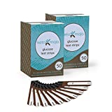 KETO-MOJO 100 Blood Glucose Test Strips, Precision Sugar Measurement for Diabetics, Monitor Your Diabetes & Ketogenic Low-Carb Diet and Nutritional Ketosis, Strips Work Only in Keto-Mojo Meters