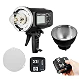 Godox AD600BM Bowens Mount 600Ws GN87 High Speed Sync Outdoor Flash Strobe Light with X1N 2.4GHz i-TTL Wireless Transmitter and Receiver Trigger Set For Nikon