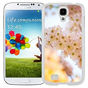 Unique Designed Cover Case For Samsung Galaxy S4 I9500 i337 M919 i545 r970 l720 With Mm Flower Blossom Cherry Tree Nature (2) Phone Case Kimberly Kurzendoerfer