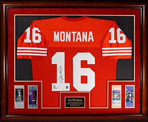 Joe Montana Framed - 4
