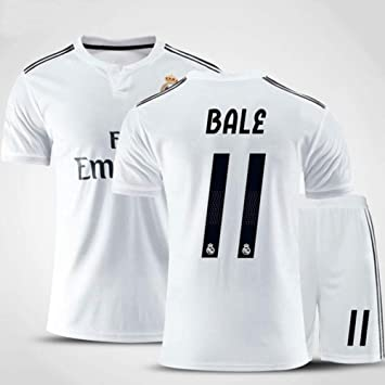HS-HUWENHUI Real Madrid Club # 11 Bale Traje De Fútbol ...