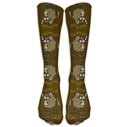 9ad7b029a11 Ghgbm 3D Cartoon Yak Fabric (3298) Stockings Hip-hop Fashion Women s  Stockings Tube