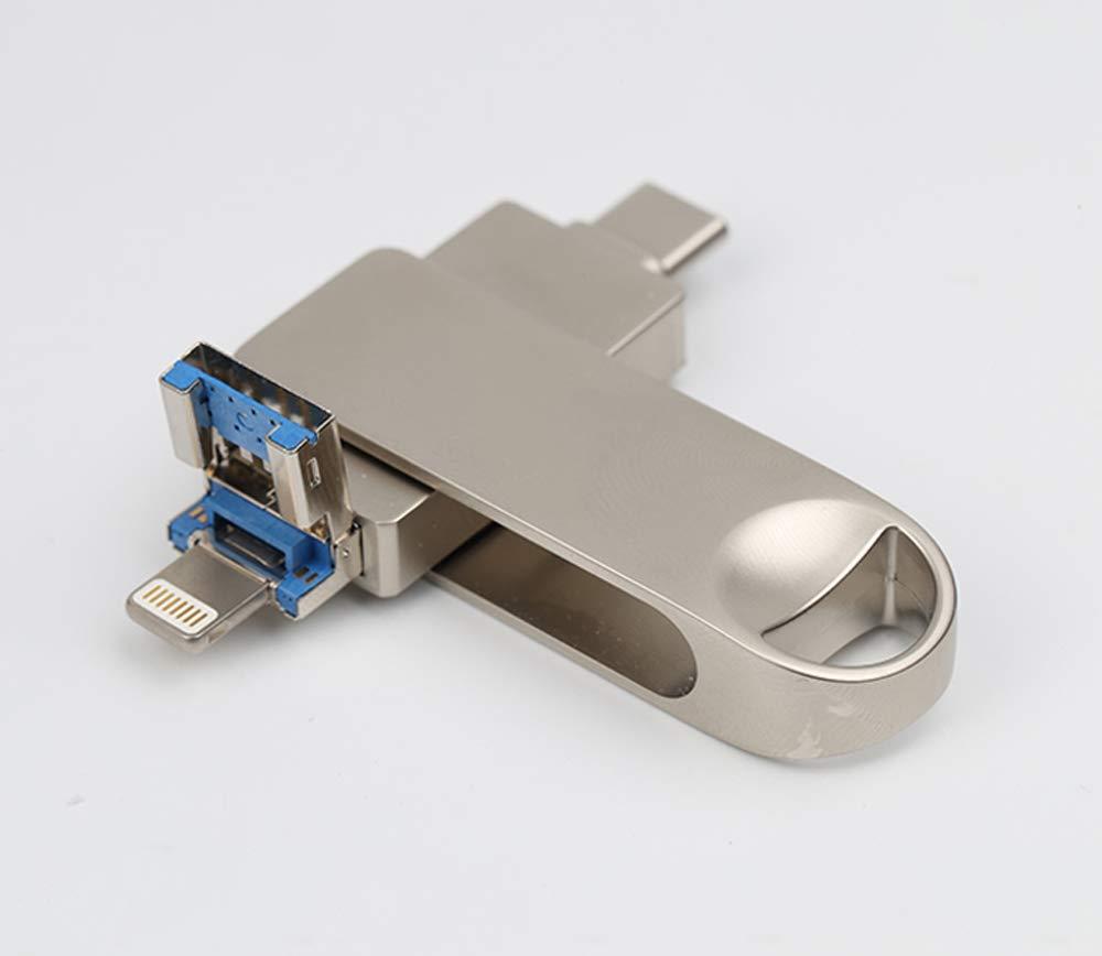 Unidad de Memoria USB OTG 3 en 1, Almacenamiento Externo USB ...