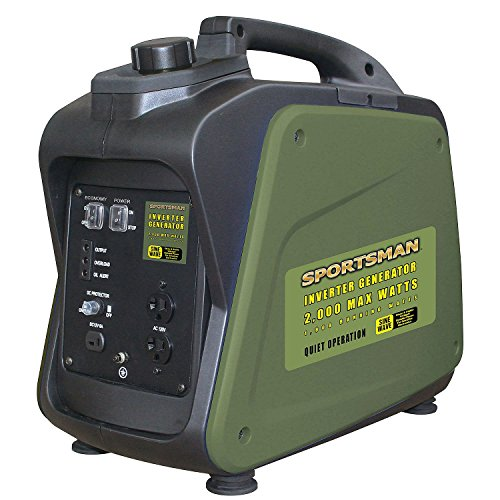 Buffalo Tools Sportsman 2000 Watt Inverter Generator - CARB Approved