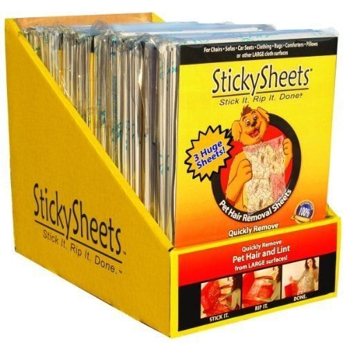 Sticky Sheets Pet Hair Removal - Sticky Sheets Pethr Rmvl - Part #: SS SD 3018 by Sticky Sheets