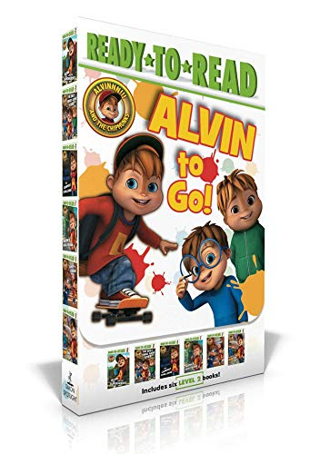 Alvin to Go!: Alvin and the Superheroes; The Best Video Game Ever; The Campout Challenge; Alvin's New Friend; Simon in Charge!; The Fun Dad (Alvinnn!!! and the Chipmunks) (Best Superhero Games Ever)