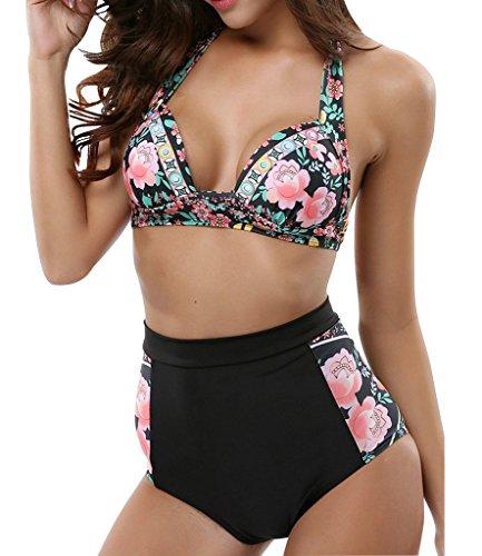 LANFEI Womens Swimsuit Waisted Bathing product image