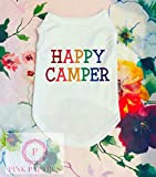 Happy Camper Dog Shirt