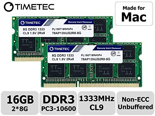 "16GB 2X8GB Memory for Apple MacBook Pro /""Core i7/"" 2.4 13.3-Inch MD314LL//A NEW"