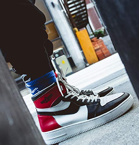 Coréenne pour Chaussures des Haut Sneakers Tendance Bottes Version Hommes Nues Chaussures Et De pour Loisirs De Noir Gamme Hommes La LIANGXIE Sports Et f6IYpxp