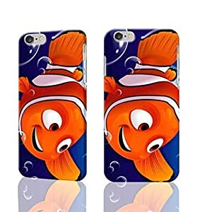 """Finding Nemo Cartoon Backgrounds 3D iphone 6 -4.7 inches Case Skin, fashion design image custom iPhone 6 - 4.7 inches , durable iphone 6 hard 3D case cover for iphone 6 (4.7""""), Case New Design By Codystore"""