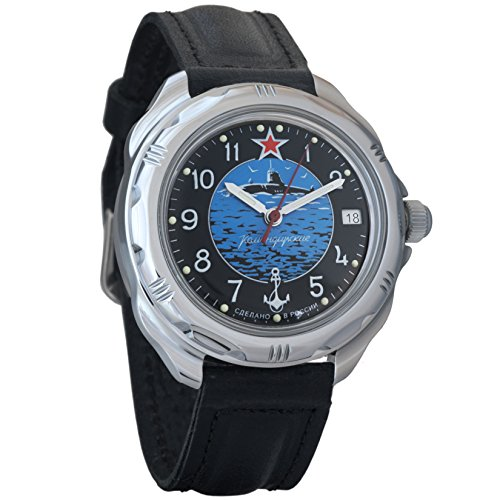Vostok Komandirskie Commander Russian Army Mens Mechanical Military Wrist Watch #211163