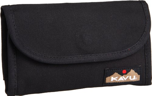 (KAVU Big Spender Wallet, Black, One Size )