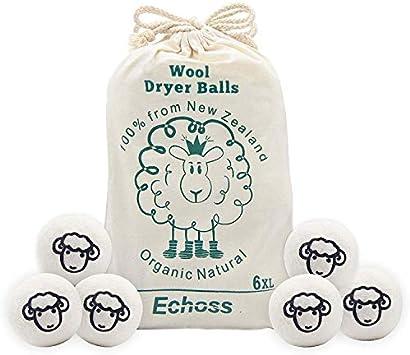 Echoss bolas lana reutilizables