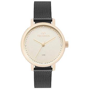 7dc539b821 Relógio Technos Feminino Ref  2035mml 5x Fashion Dourado  Amazon.com ...