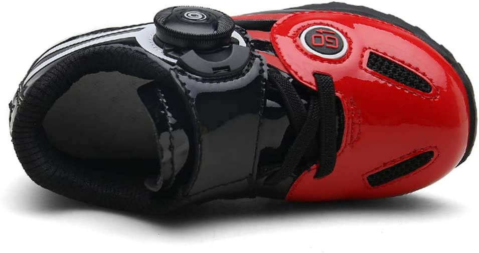 ZC Dawn Zapatillas De Spinning para Niños Ciclismo De Interior, Bicicleta De Carretera Compatible con Zapatillas De Ciclismo Y Accesorios De Ciclismo Calzado Deportivo,Rojo,28: Amazon.es: Hogar