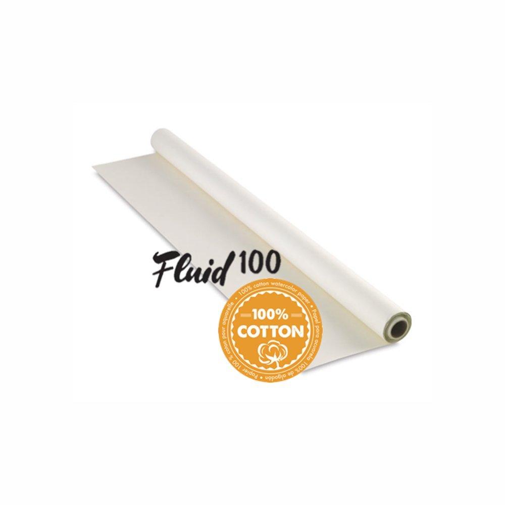 Handbook Paper Fluid 100 Watercolor Cp 140Lb Roll 55Inx6Yd by Handbook Paper