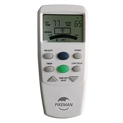 Ceiling fan remote control replace hampton bay thermostatic lcd w ceiling fan remote control replace hampton bay thermostatic lcd w fan reverse function fan 9t aloadofball Image collections