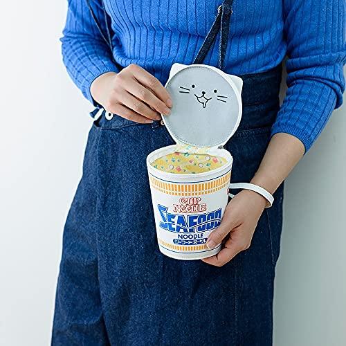 CUP NOODLE 50TH ANNIVERSARY シーフードヌードル BIGポーチBOOK
