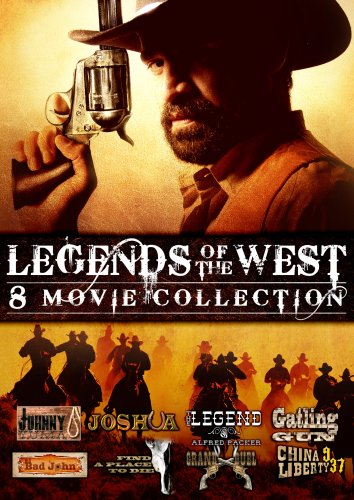 Legends of the West - 8 Movie Collection (Johnny Yuma / Joshua / The Legend of Alfred Packer / Gatling Gun / Big Bad John / Find A Place To Die / Grand Duel / China 9, Liberty 37) by Navarre Corporation