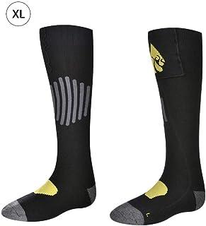 Chaussettes chauffantes à piles AA, chaussettes thermiques en coton pour temps froid, orteils de réchauffeur de pieds d'hiver chauffants alimentés par batterie, pour pieds froids de façon chronique