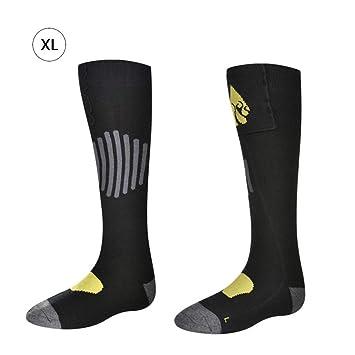 Bulary Calcetines Calientes con calefacción de otoño e Invierno - Calcetines térmicos Desmontables y Lavables para Deportes al Aire Libre: Amazon.es: Hogar