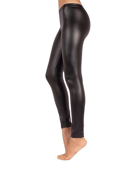 18efe4629473 CALZITALY Leggings Pelle Termici | Pantaloni Donna Finta Pelle | Nero | Xs,  S, M, L, Xl | Calceteria Italiana |: Amazon.it: Abbigliamento