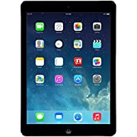 Apple iPad Air MD785LL/B 9.7-Inch 16GB Wi-Fi Tablet (Black with Space Gray) (Certified Refurbished)