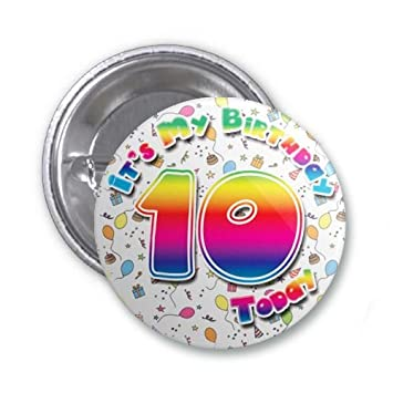 It/'s My Birthday Party Badge for Girls