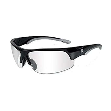 4bc49e692d1 John Deere Wiley X Torque-X Safety Glasses Clear   Black