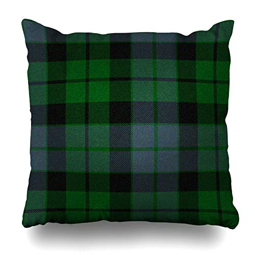 Ahawoso Throw Pillow Cover Square 17x17 Inches Traditional