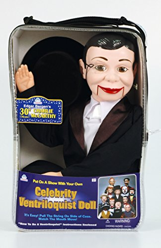 Charlie McCarthy Ventriloquist Doll