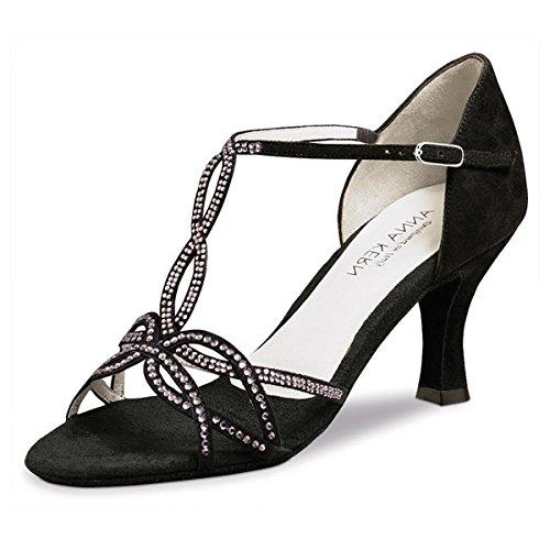 Zapatos Ante cm Negro 919 6 Baile Kern 60 Anna de Mujeres qvw0xAX8E