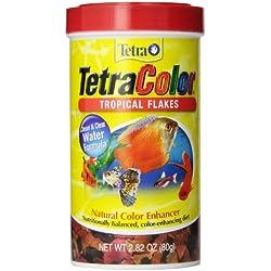 Tetra 16265 TetraColor Tropical Flakes, 2.82-Ounce, 500 ml