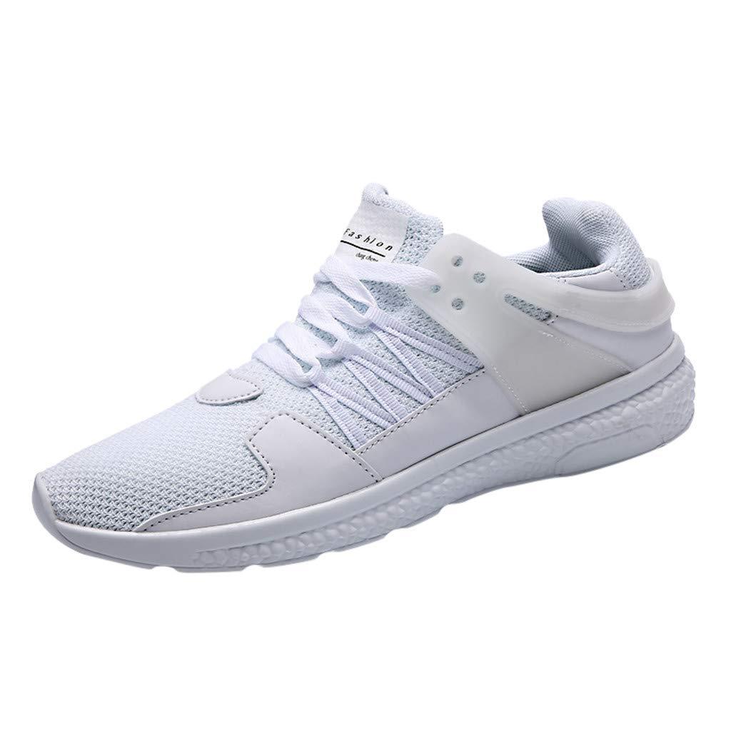 MXJEEIO 💖 Zapatillas Running Hombre Mujer Zapatos Deporte para ...