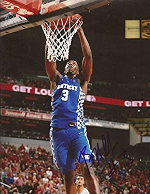 Edrice Bam Adebayo signed Kentucky Wildcats UK 8x10 photo autographed - Autographed College Photos